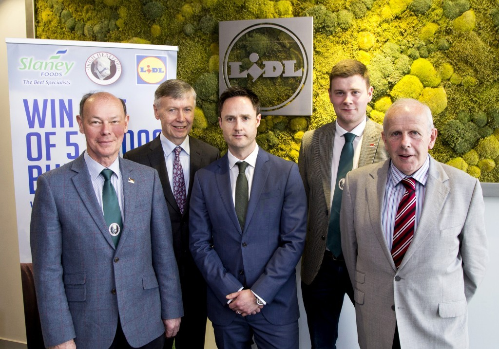 Lidl Ireland meeting with Slaney Foods and Irish Hereford Association. Picture Colm Mahady / Fennells - Copyright© Fennell Photography 2017