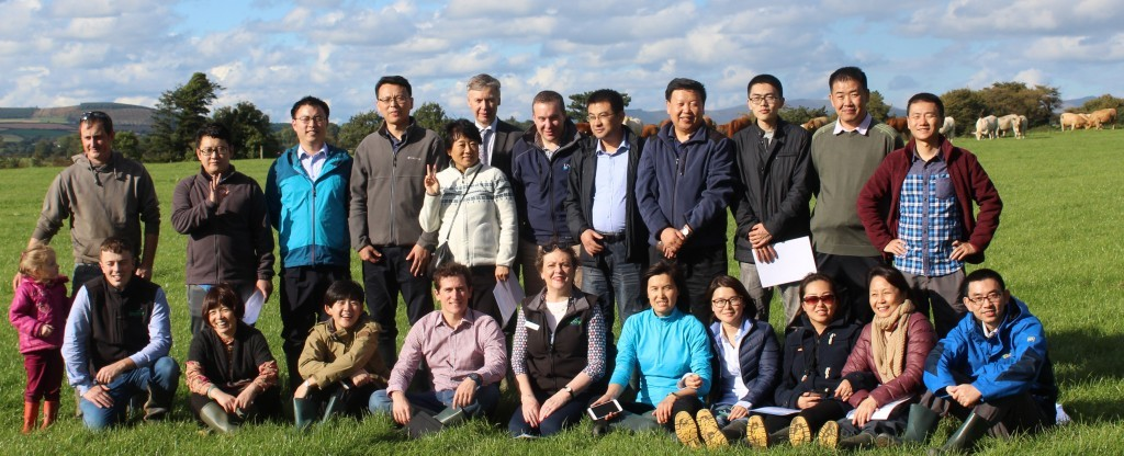 Chinese Knowledge Transfer Group at Terence McCann's Farm