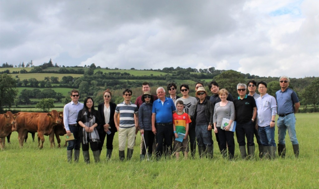 Republic of Korea Buyers at Keating's Farm