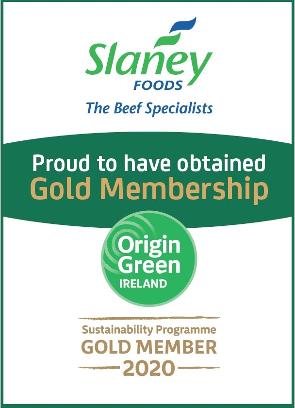 Slaney Foods Proud to have obtained Origin Green Gold Membership